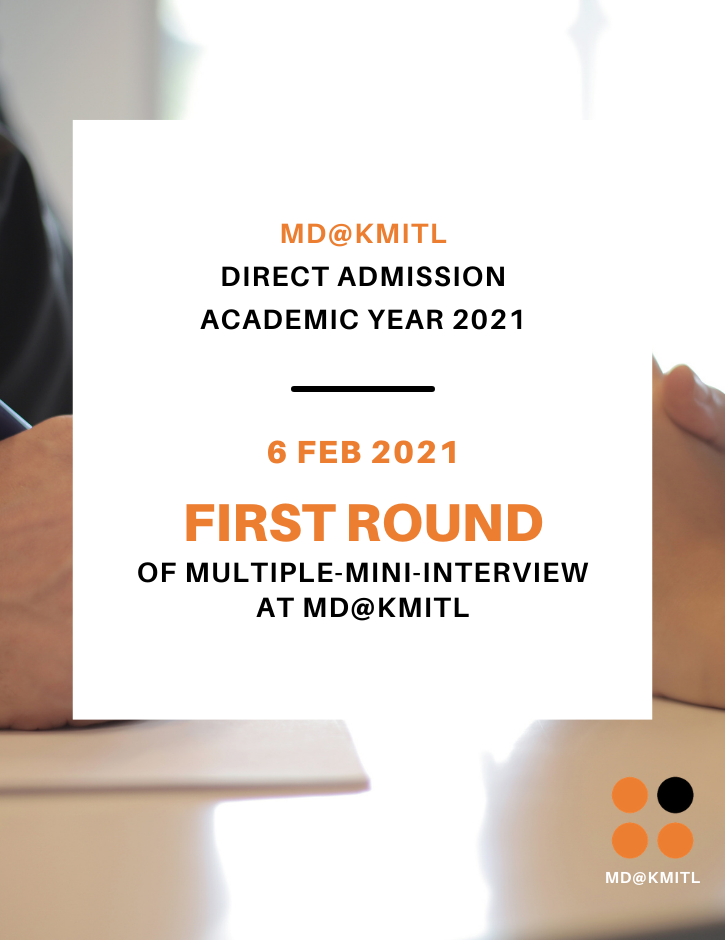First Round of Multiple-Mini-Interview