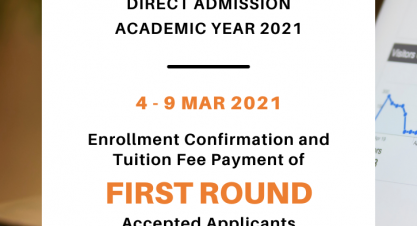 Enrollment Confirmation and Tuition Fee Payment