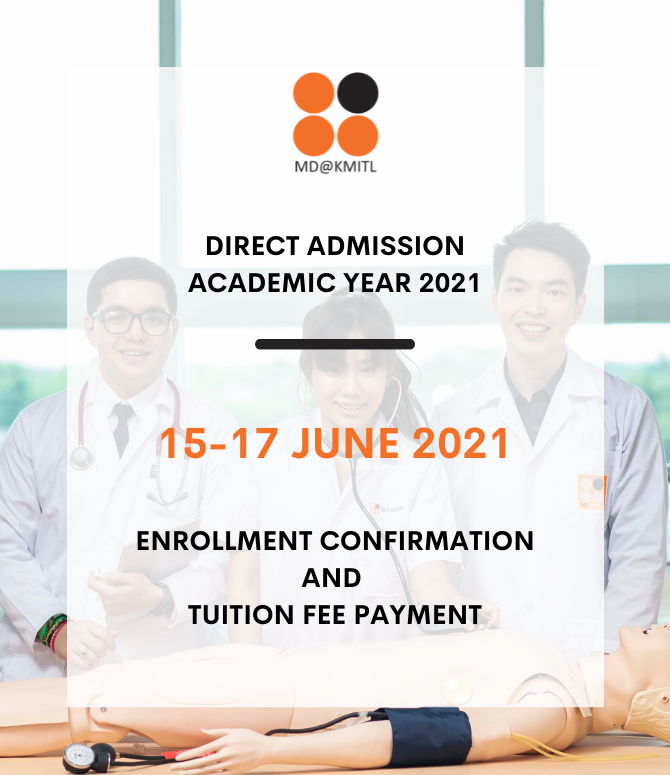 Enrollment Confirmation and Tuition Fee Payment for the Final Round of 2021 Direct Admission